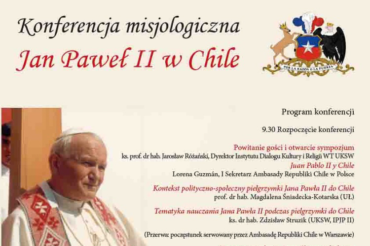 Jan Paweł II wChile – 3 III 2016