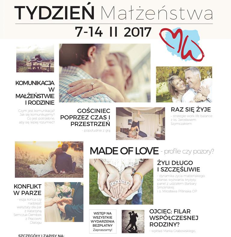 Tydzień Małżeństwa wWarszawie