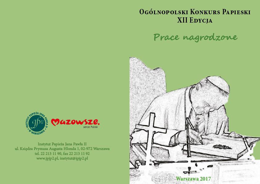 Ogólnopolski Konkurs Papieski XII Edycja – Prace nagrodzone