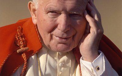 Gminny Konkurs Papieski wSzkole Podstawowej im.bł.Jana Pawła II wPłocochowie