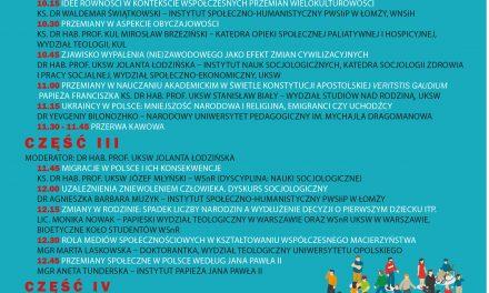 """Zapowiedź: Ogólnopolska Socjologiczna Konferencja Naukowa """"Przemiany społeczeństwa polskiego"""""""