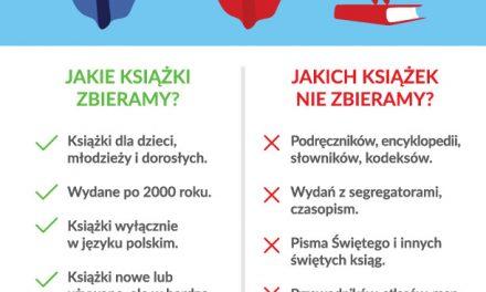 Rozpoczynamy szóstą edycję Wielkiej Zbiórki Książek!
