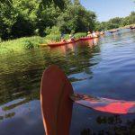 Konkurs sportowy ispływ kajakowy