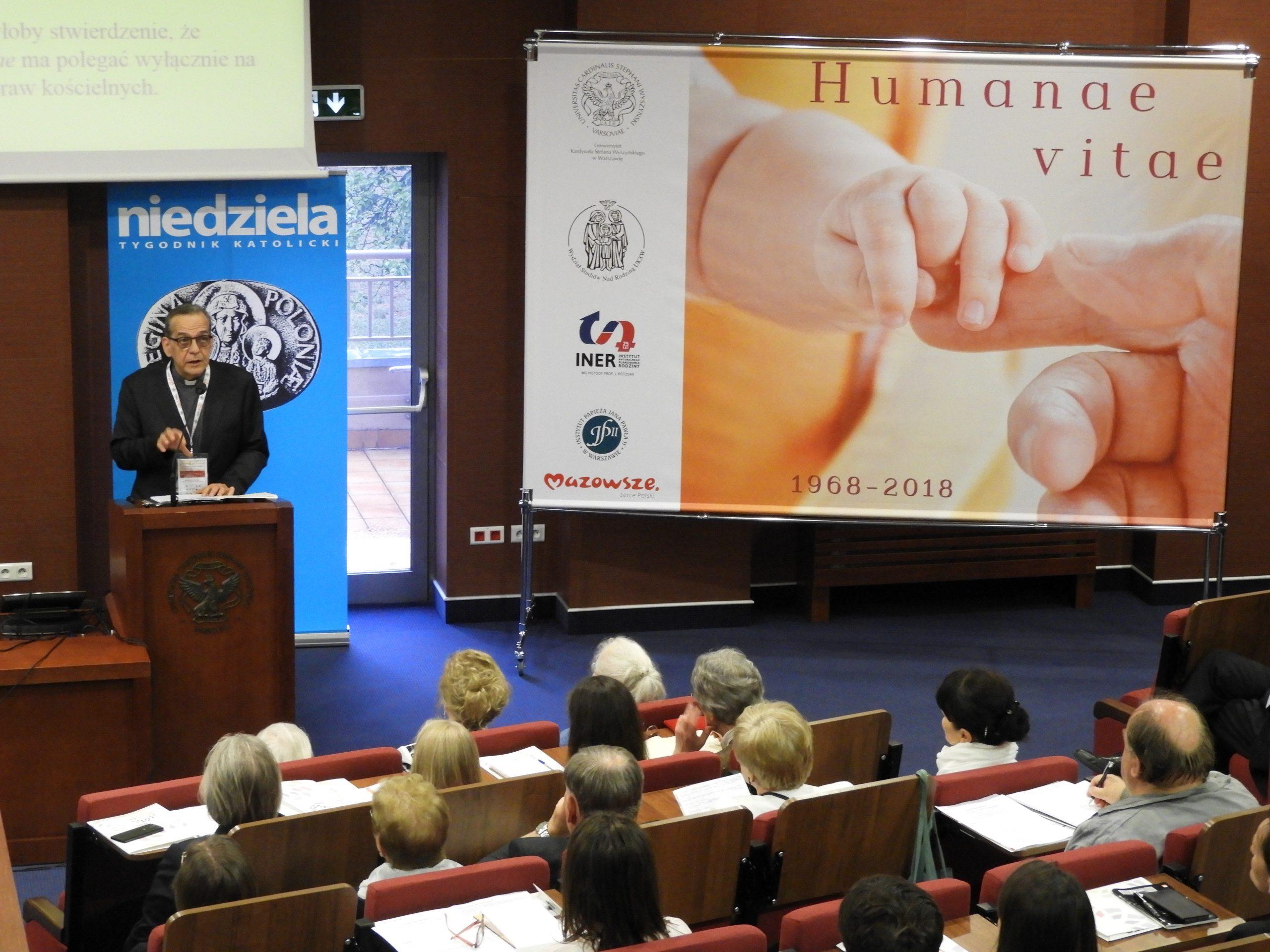 """Zapis konferencji """"Humanae vitae – wtrosce ożycie ludzkie"""""""