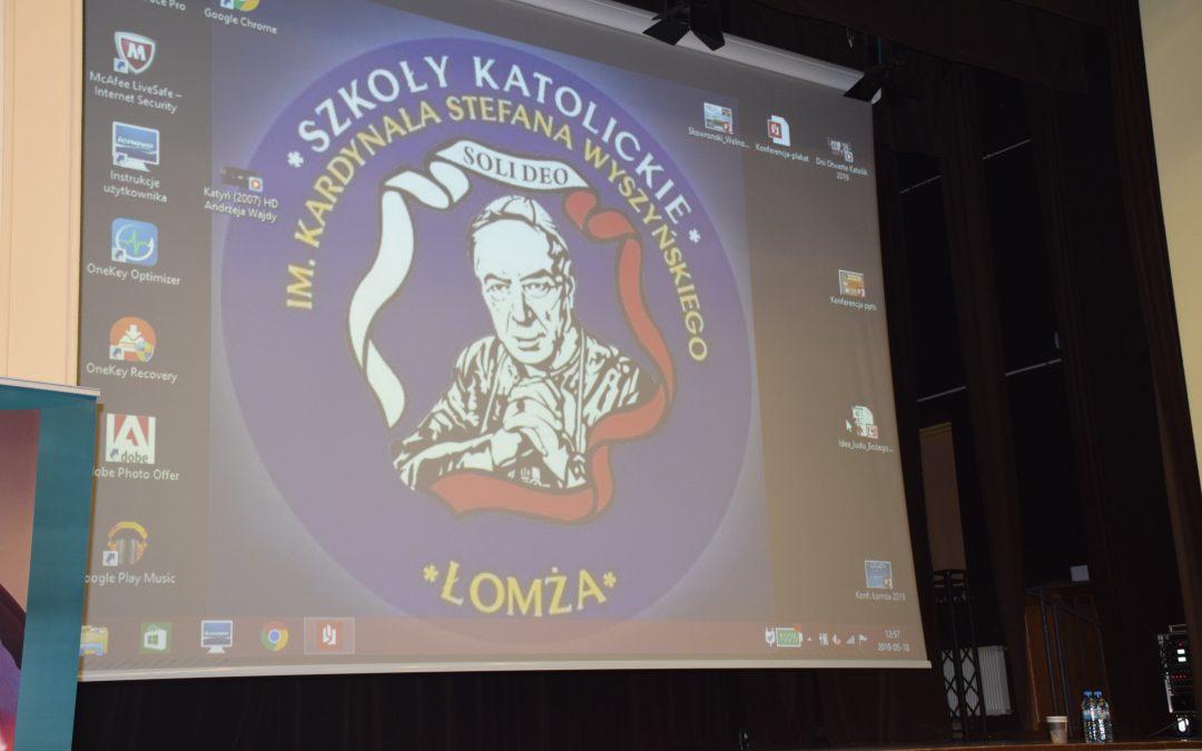"""Konferencja """"Wolność-Rodzina-Ojczyzna wnauczaniu kard. Stefana Wyszyńskiego"""""""