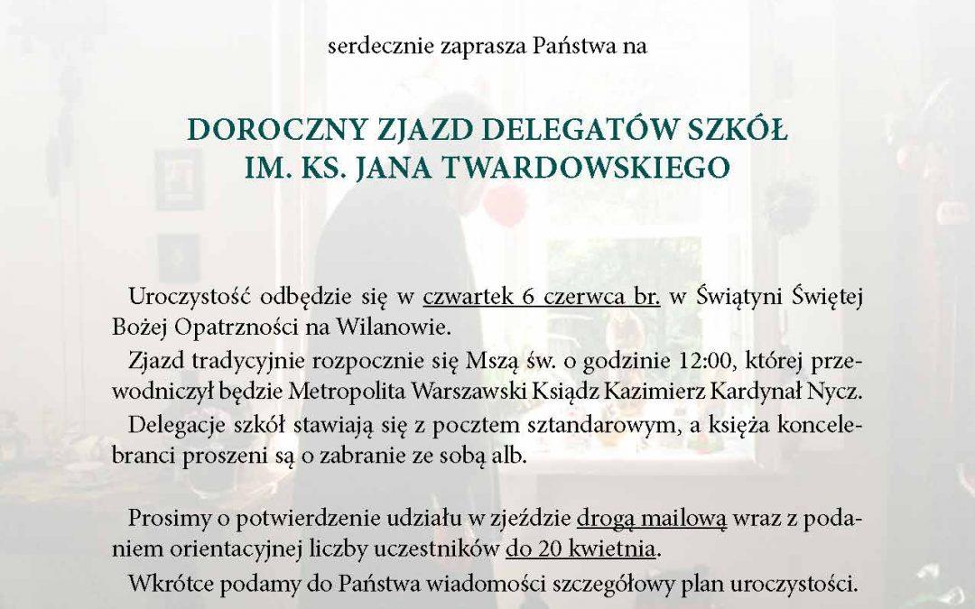 Zjazd szkół im.ks.Jana Twardowskiego 2019