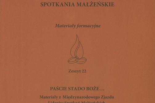 """""""Spotkania Małżeńskie"""" – nowy (22) zeszyt materiałów formacyjnych Ruchu"""