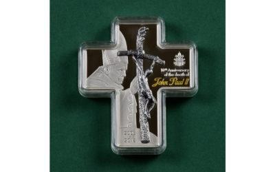 Moneta-krzyż orazinne nabytki Archiwum IPJPII