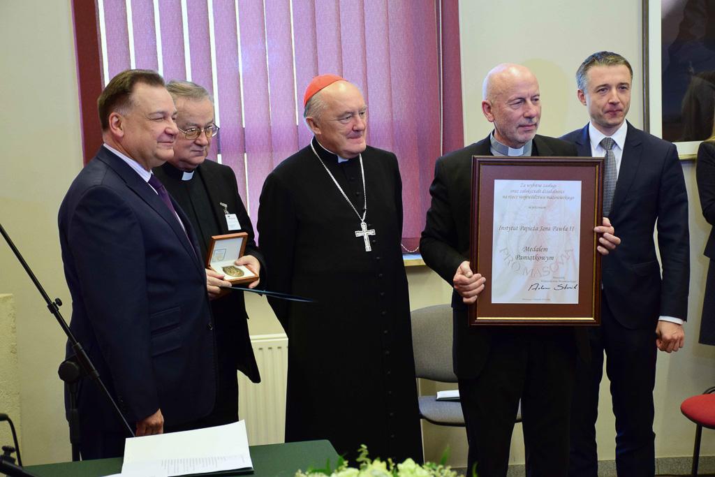 Jubileusz 10-lecia działalności Instytutu Papieża Jana Pawła II