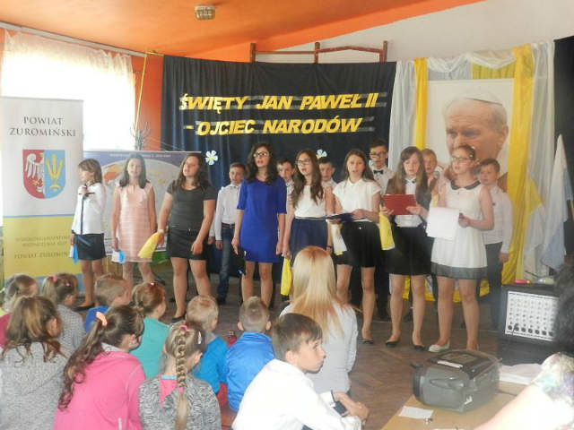 VIII edycja konkursu multimedialnego wSzkole Podstawowej im.Jana Pawła II wŁaszewie
