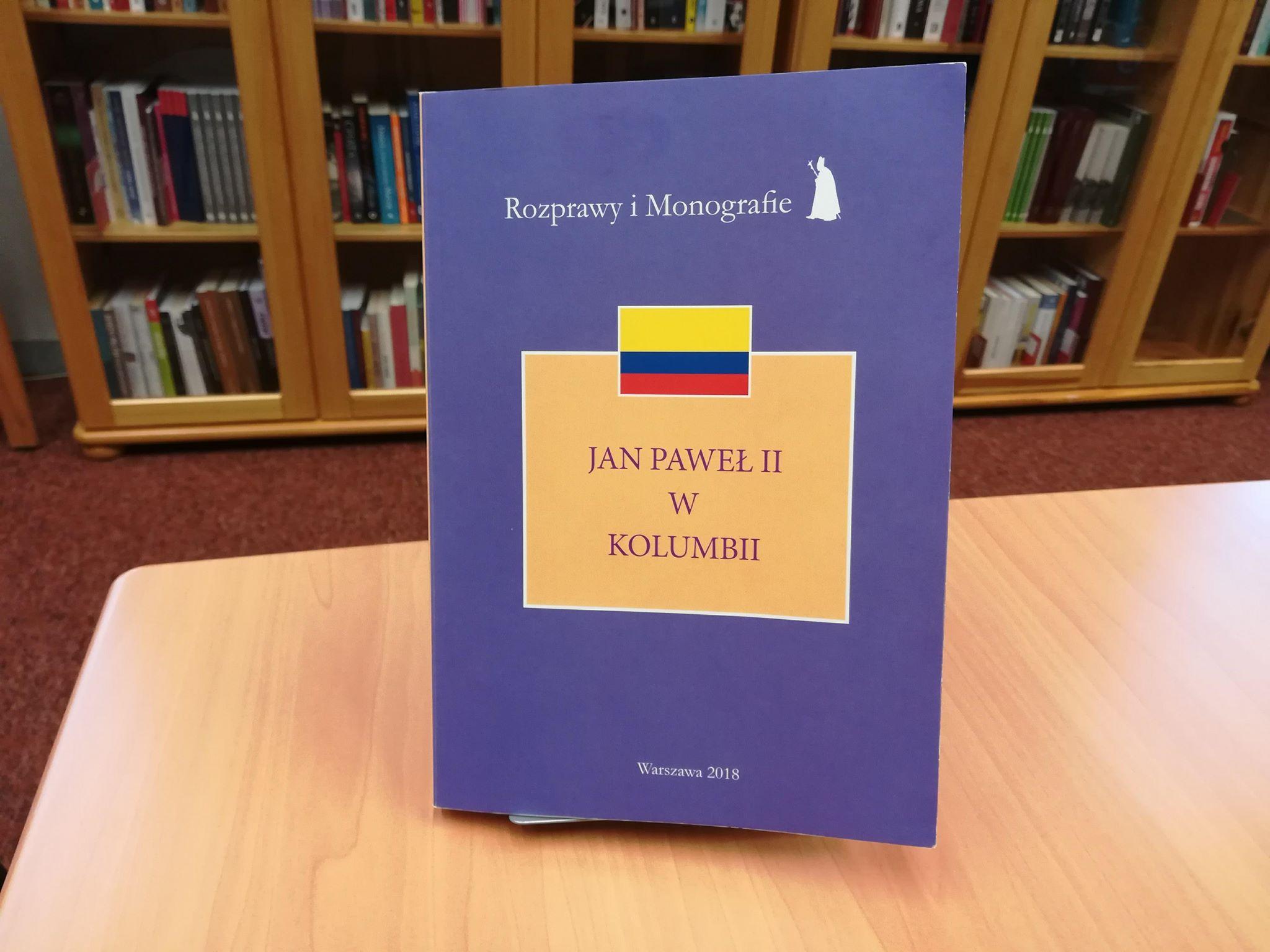 Zapowiedź wydawnicza: Jan Paweł II wKolumbii