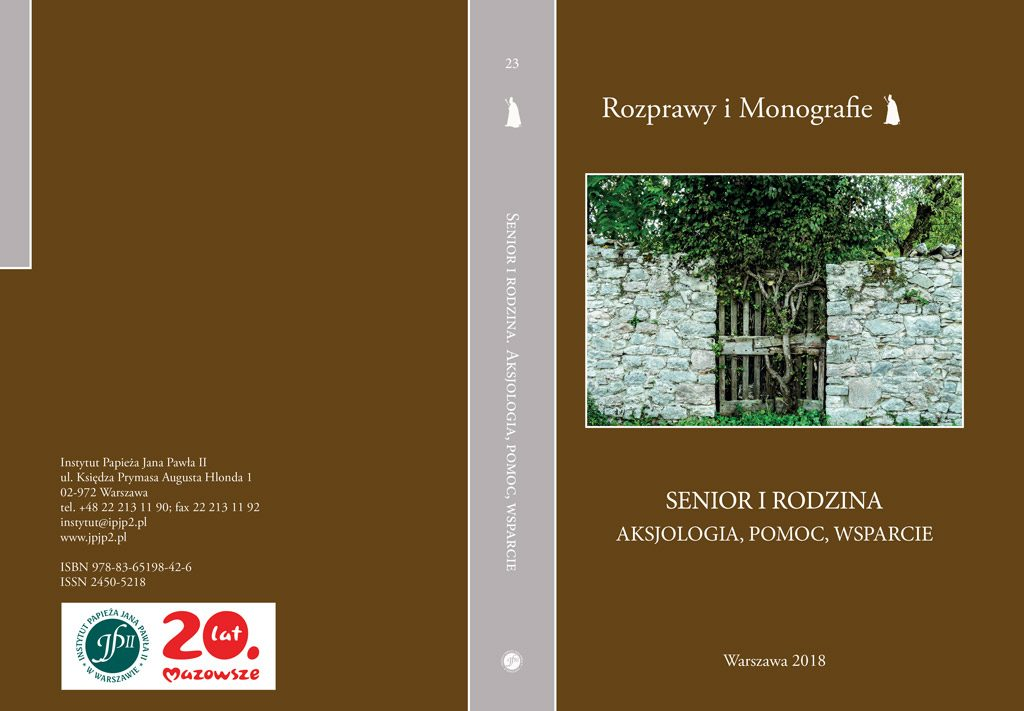 "Monografia ""Senior irodzina"""