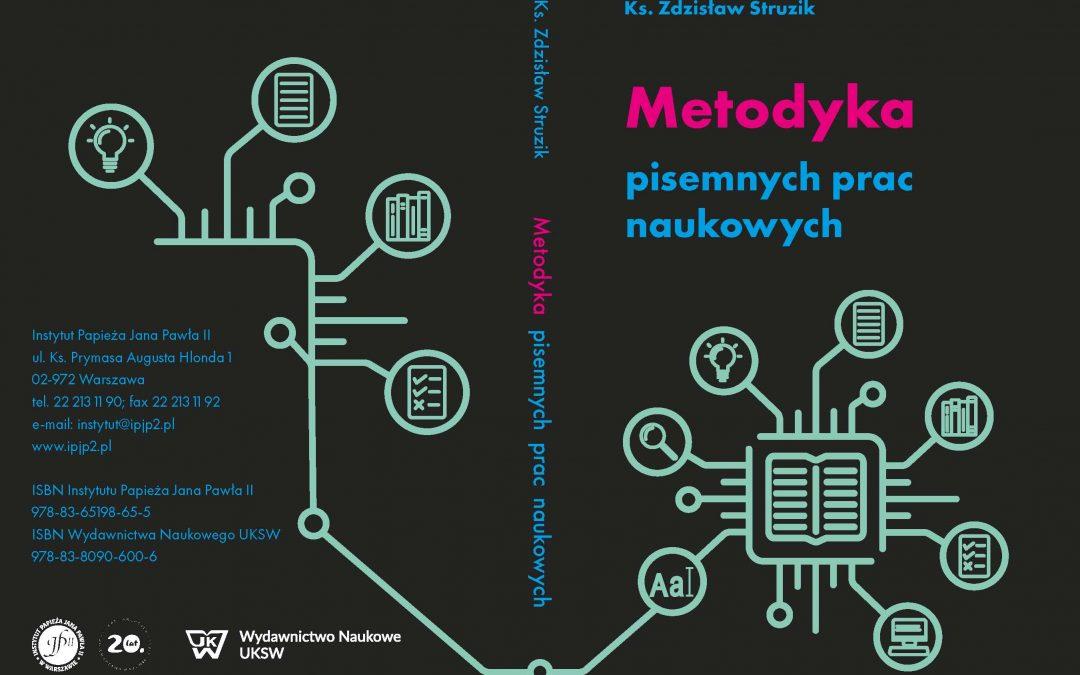 Nowość wydawnicza: Metodyka pisemnych prac naukowych