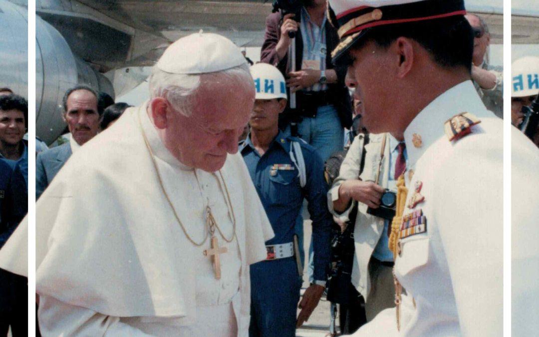 Wystawa Jan Paweł II wTajlandii