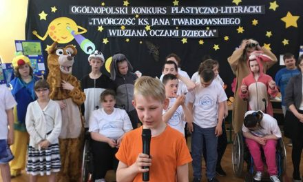 """Ogólnopolski Konkurs Plastyczno-Literacki pt.""""Twórczość ks.Jana Twardowskiego widziana oczami dziecka"""""""