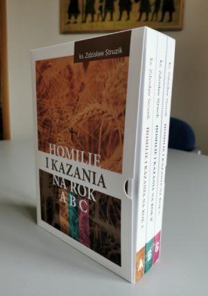 Ks. Zdzisław Struzik, Homilie i kazania na rok A, B, C, Instytut Papieża Jana Pawła II, Warszawa 2021