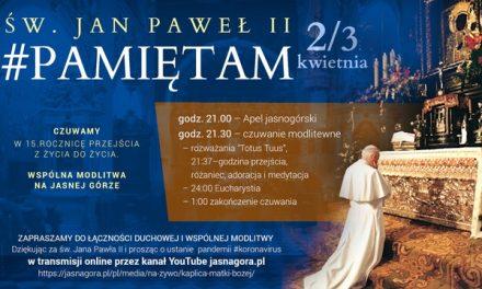 Św. Jan Paweł II #PamiętamCzuwam