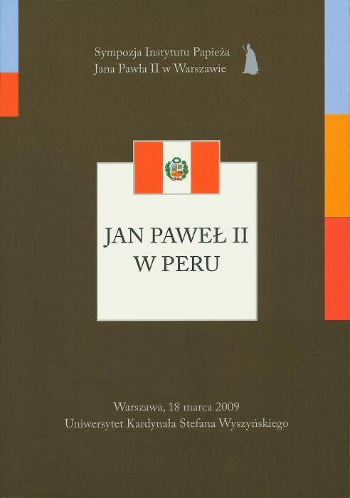 Jan Paweł II wPeru