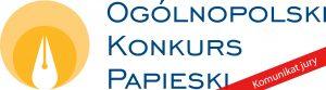 XIV edycja Ogólnopolskiego Konkursu Papieskiego – komunikat